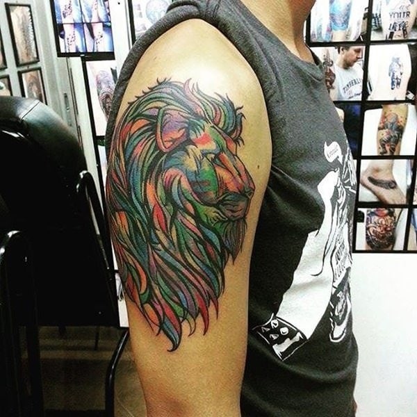 55 Amazing Wild Lion Tattoo Designs And Meaning: 110 Best Lion Tattoo Collection Of 2019