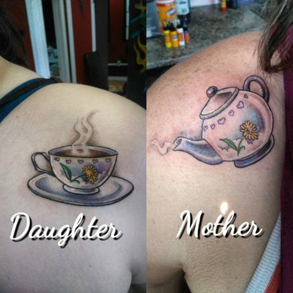 Coffee Mother Daughter Tattoos Wiring Diagrams