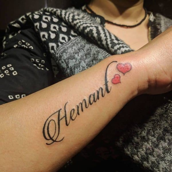 Types Of Name Tattoos