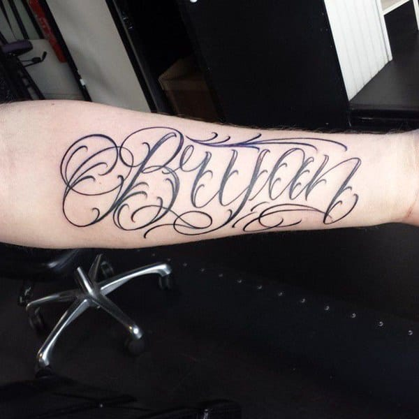 99 Popular Collection of Name Tattoos - Wild Tattoo Art