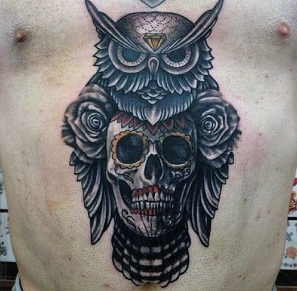 101 Highly Recommended Owl Tattoos in the US - Wild Tattoo Art