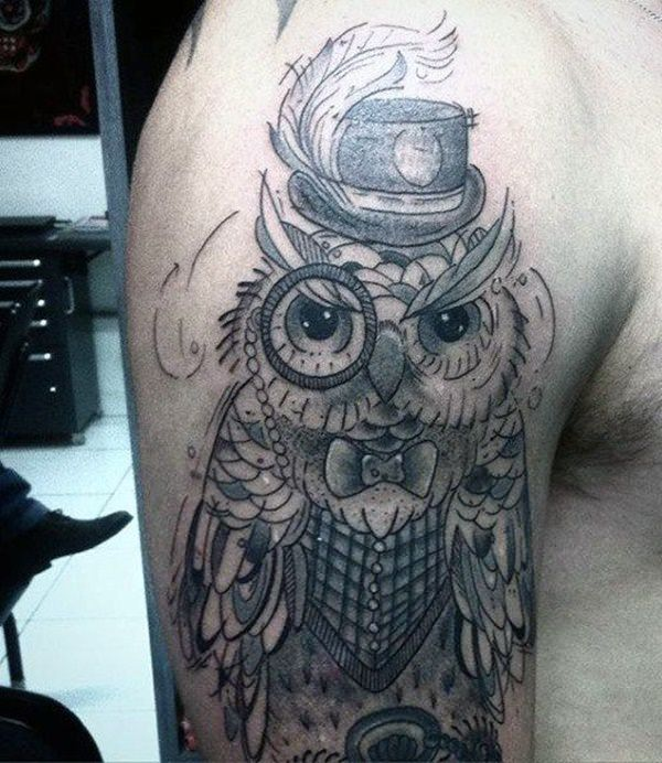 28 Owl Tattoo Designs Ideas: 101 Highly Recommended Owl Tattoos In The US