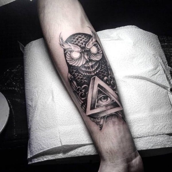 Amato 101 Highly Recommended Owl Tattoos in the US - Wild Tattoo Art EZ52