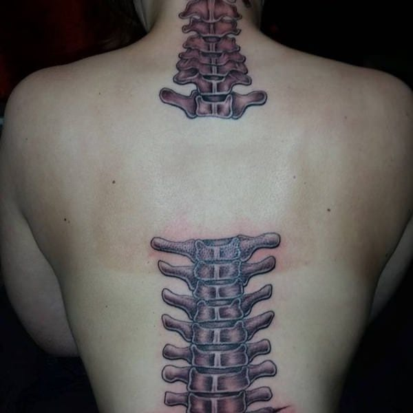 1ee0ddc16 This kind of tattoo is deeply personal and meaningful to most wearers, if  not all. spine-tattoos