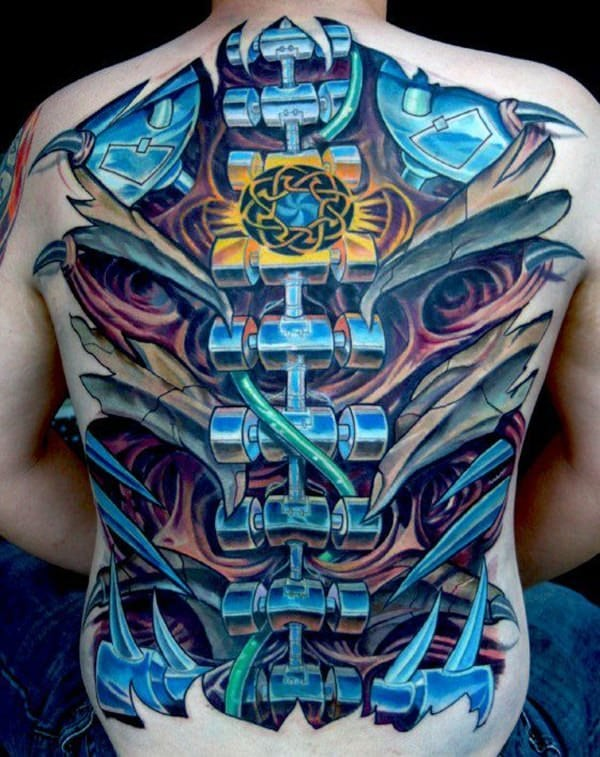 bcf5ea29a0f00 If you get this kind of tattoo, it's like trying to prove everybody that  you can do many things despite being a delicate and fragile person. spine- tattoos