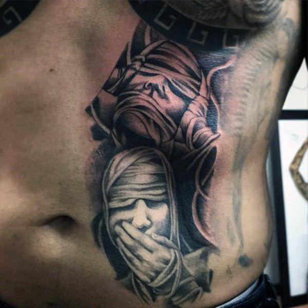 150 Coolest Stomach Tattoos For Men & Women
