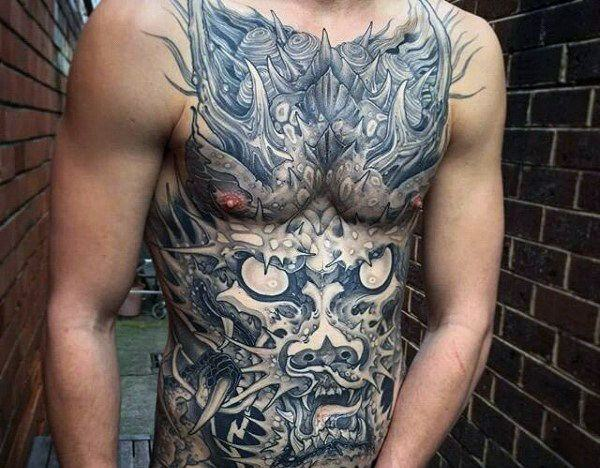 150 coolest stomach tattoos for men women wild tattoo art