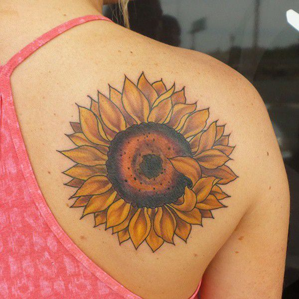 155 Sunflower Tattoos That Will Make You Glow