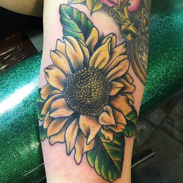 125 Top Rated Sunflower Tattoos Wild Tattoo Art