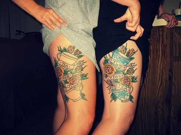 195 Top Rated Thigh Tattoos For Female Wild Tattoo Art