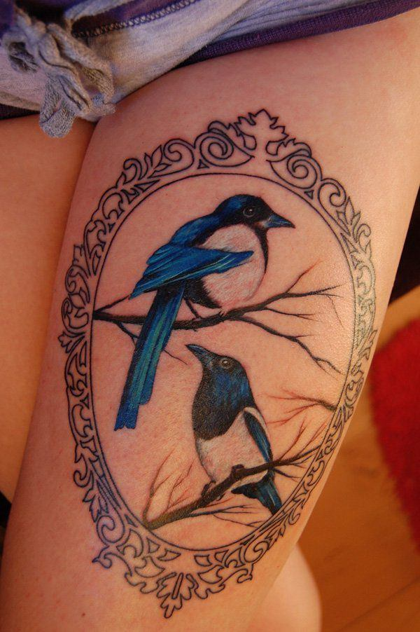 195 Top Rated Thigh Tattoos For Female - Wild Tattoo Art