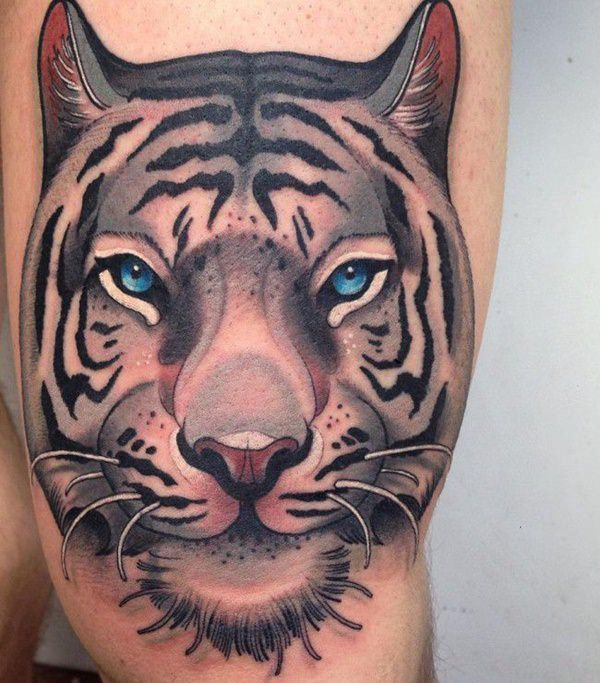 99 top tiger tattoos of 2018 wild tattoo art. Black Bedroom Furniture Sets. Home Design Ideas