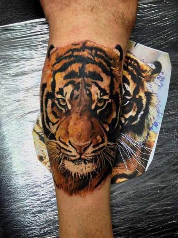 efe614f7a 99 Top Tiger Tattoos of 2019 - Wild Tattoo Art