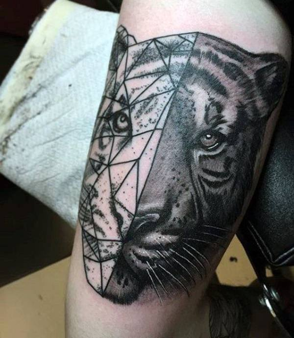99 top tiger tattoos of 2018 wild tattoo art for Tiger tattoos for females