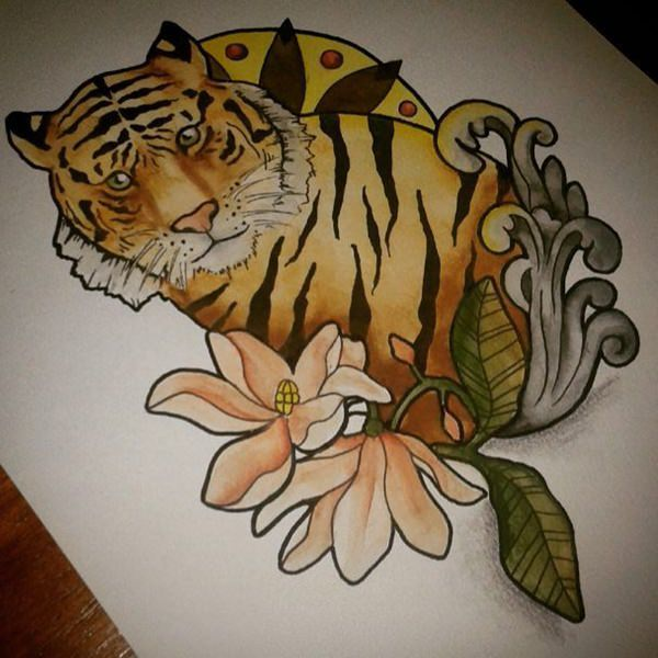Tiger Tattoo Work In Progress Assoass 1