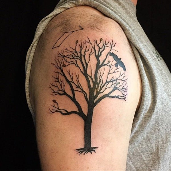 Underarm Tattoos Designs Ideas And Meaning: 125 Tree Tattoos On Back & Wrist With Meanings