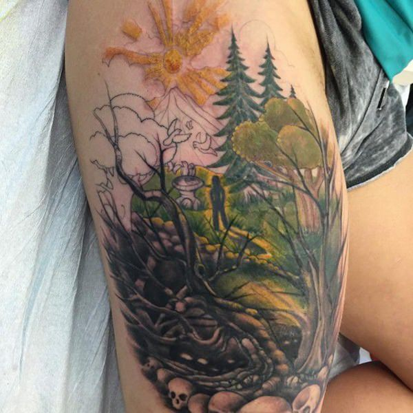 125 Tree Tattoos On Back Wrist With Meanings Wild