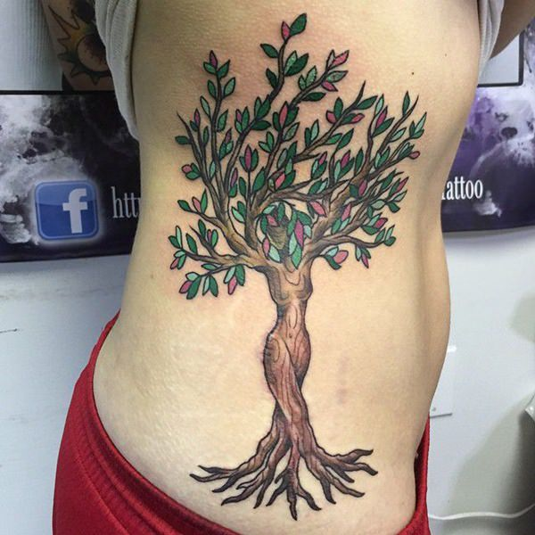 125 tree tattoos on back wrist with meanings wild for Birch tree tattoo meaning