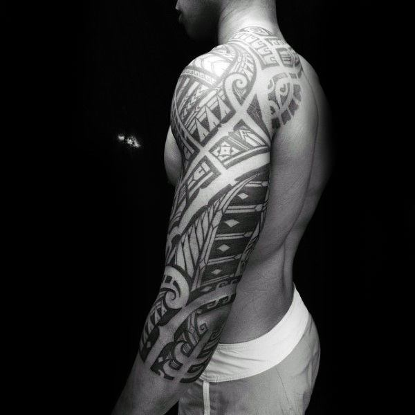 6271f0b1b Most tribal tattoos do tend to feature characteristics like repetitive  design (pattern) elements, bold line motifs, strong black ink usage, and  mythical or ...