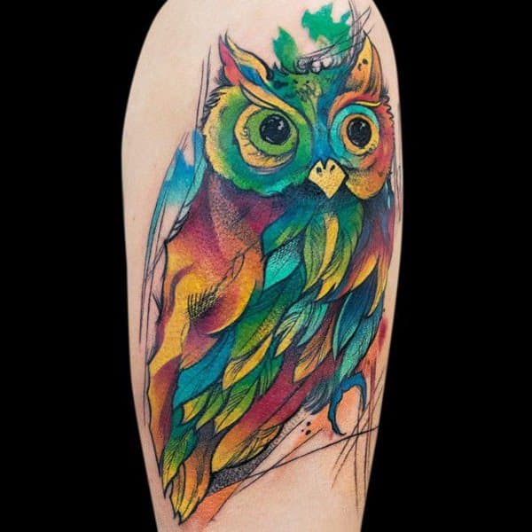 Why You Should (Or Shouldn\'t) Get a Watercolor Tattoo - Wild Tattoo Art