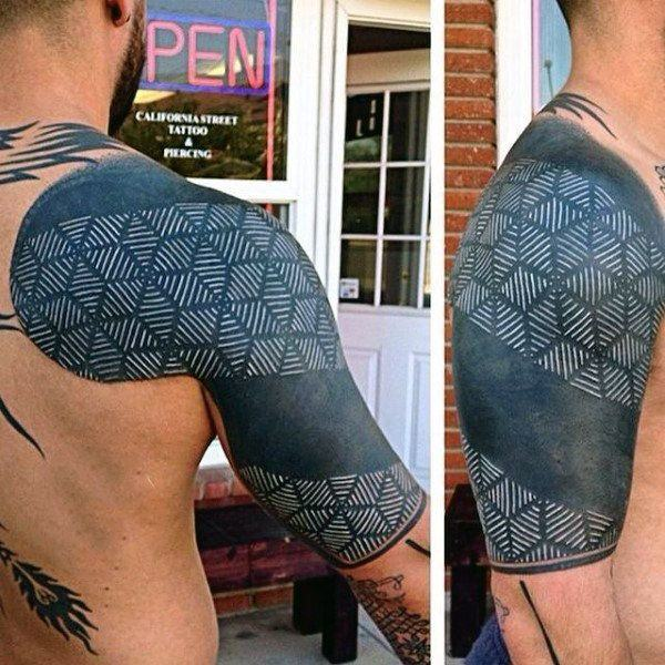 Ink Tattoo Designs: 150 Best White Ink Tattoos In The USA This Year