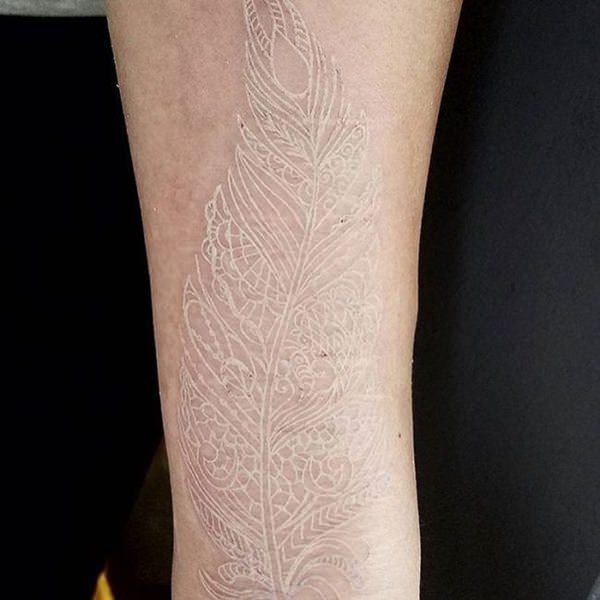 150 best white ink tattoos in the usa this year wild tattoo art types of white ink tattoos mightylinksfo