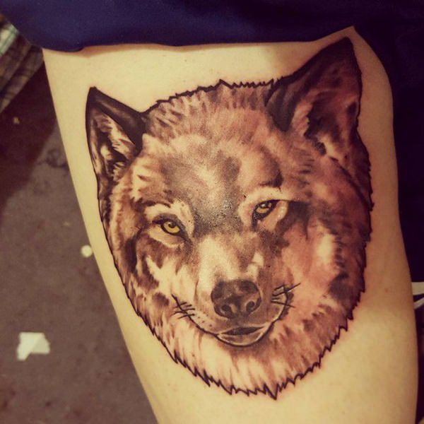 be3d8f9d0 Average Service Cost and Standard Cost of Wolf Tattoo