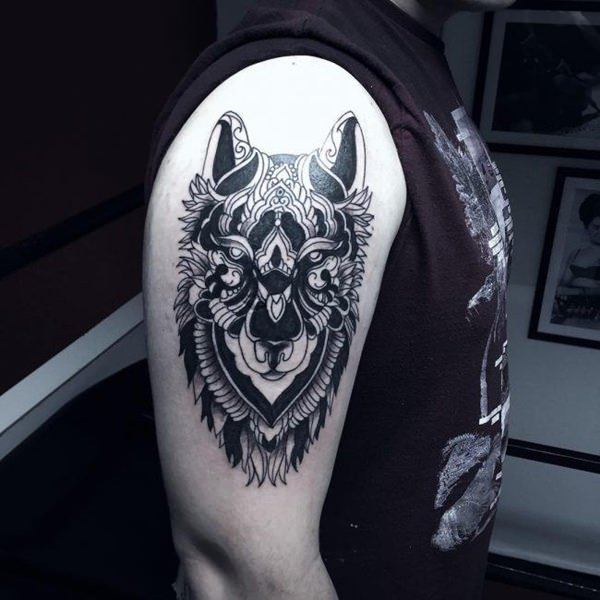 8cea812765d27 For instance, a wolf tattoo holds so much meaning than just simply being an  animal tattoo. It represents the traits of the person wearing the tattoo.