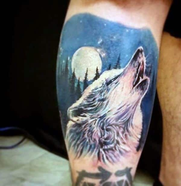 Best 25 Wolf Tattoos Ideas On Pinterest: 125 Coolest Wolf Tattoo Designs
