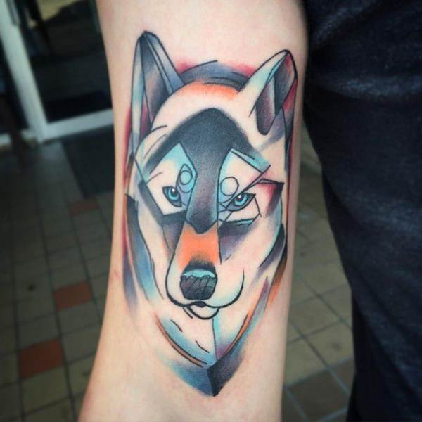 125 coolest wolf tattoo designs wild tattoo art. Black Bedroom Furniture Sets. Home Design Ideas