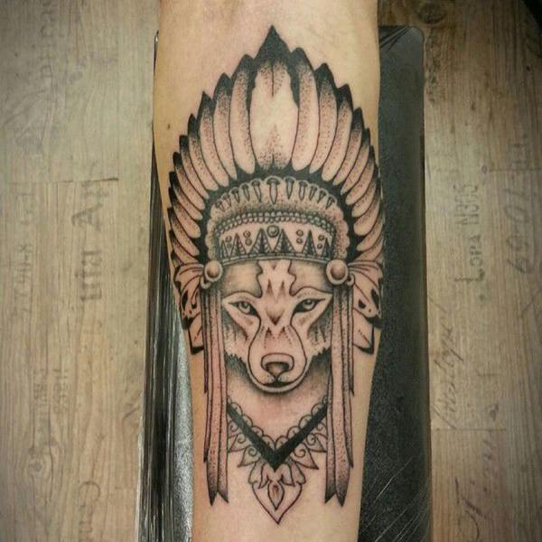 125 Coolest Wolf Tattoo Designs