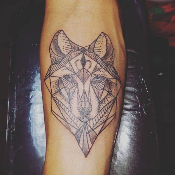 Womens Wolf Tattoo Thigh Tattoos Women Wolf Womens Thigh: 125 Coolest Wolf Tattoo Designs