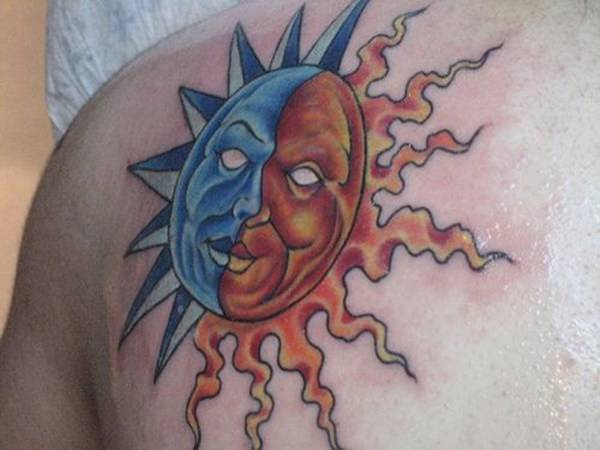 sun-moon-tattoos