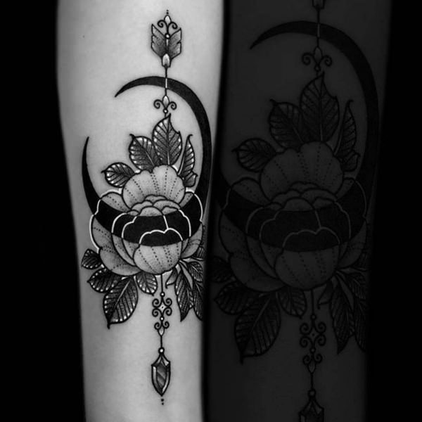 b6e39a933 These tattoo ideas could be filled with lots of adornments, allowing both  the artists and you to provide it with your own personal touch. arrow- tattoos