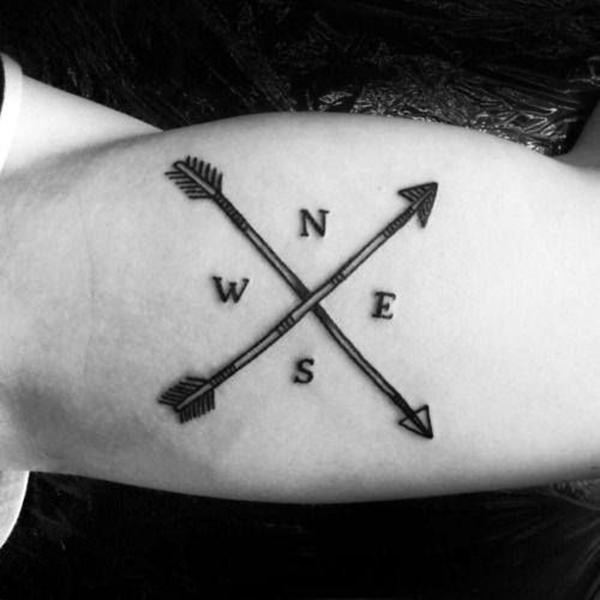 29d2cbc09 125 Unique Arrow Tattoos with Meanings - Wild Tattoo Art
