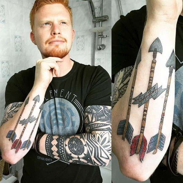 Why You Should Or Shouldn T Get A Watercolor Tattoo: 125 Unique Arrow Tattoos With Meanings