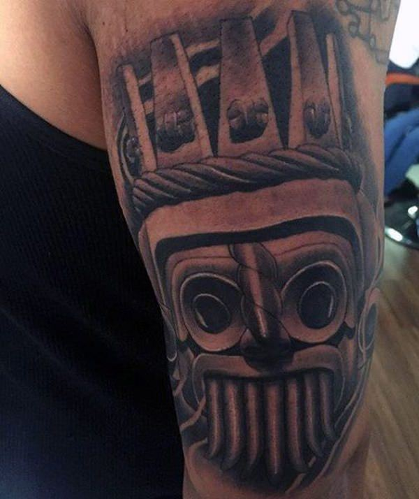 aztec-tattoos for men