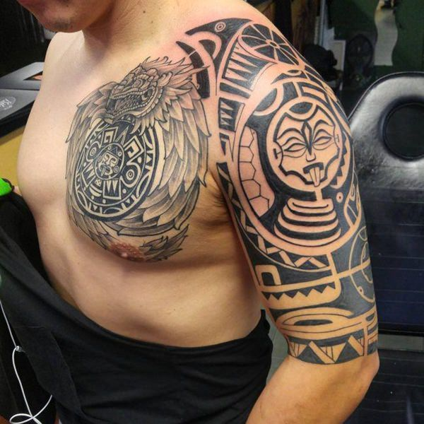 125 Best Aztec Tattoo Designs For Men Wild Tattoo Art