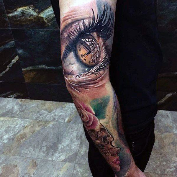 Evil Eye Tattoo: Top 125 Eye Tattoos For The Year