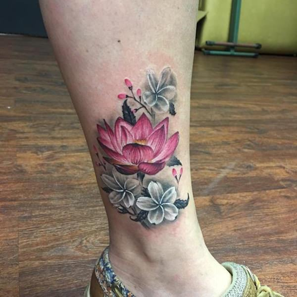 155 Trendy Ankle Tattoos For Women