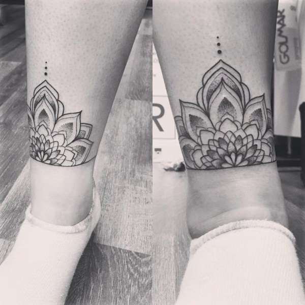 155 Trendy Ankle Tattoos For Women Wild Tattoo Art