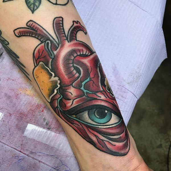 Tattoo Designs And Prices: 125 Top Heart Tattoo Designs Of 2019