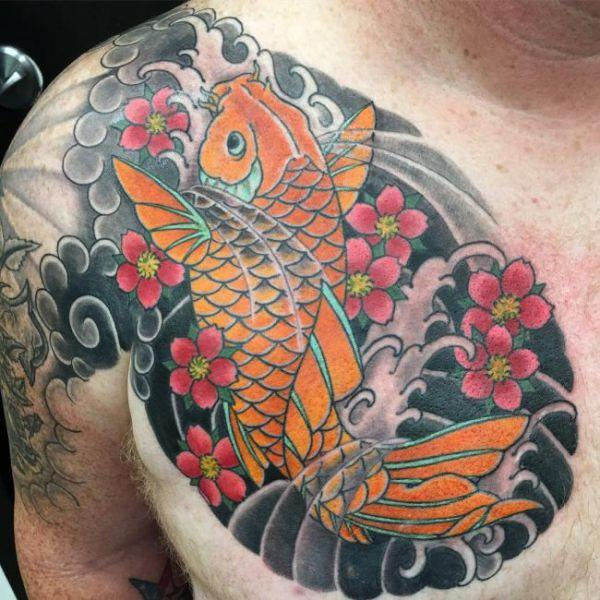 125 Koi Fish Tattoos With Meaning Ranked By Popularity Wild