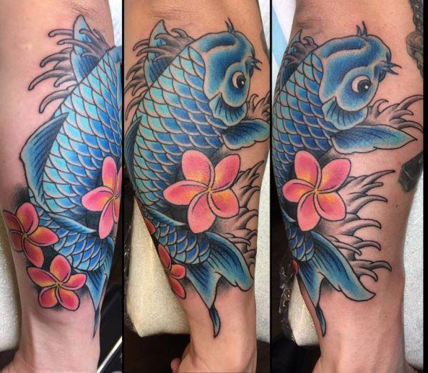 125 Koi Fish Tattoos with Meaning, Ranked by Popularity 59