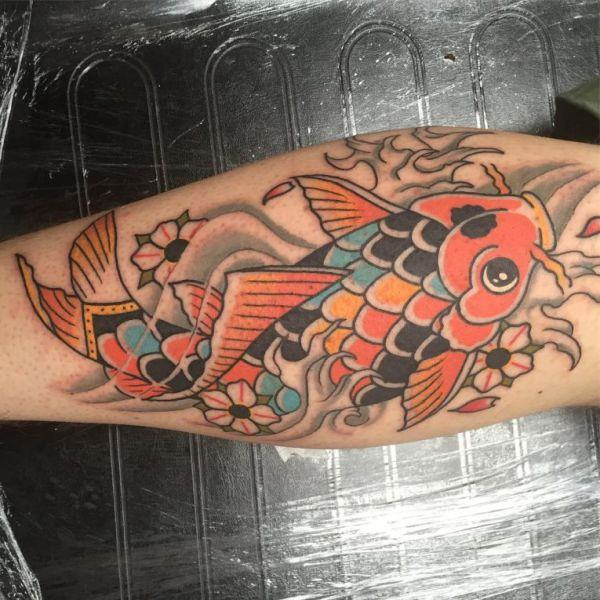 125 Koi Fish Tattoos with Meaning, Ranked by Popularity 15