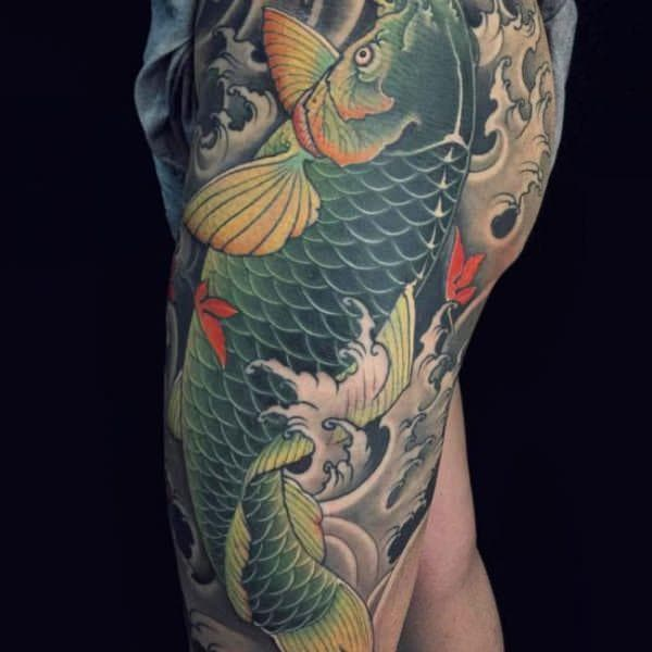 125 koi fish tattoos with meaning, rankedpopularity - wild
