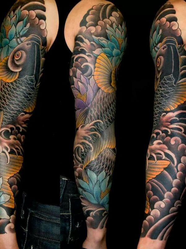 125 Koi Fish Tattoos with Meaning, Ranked by Popularity 27