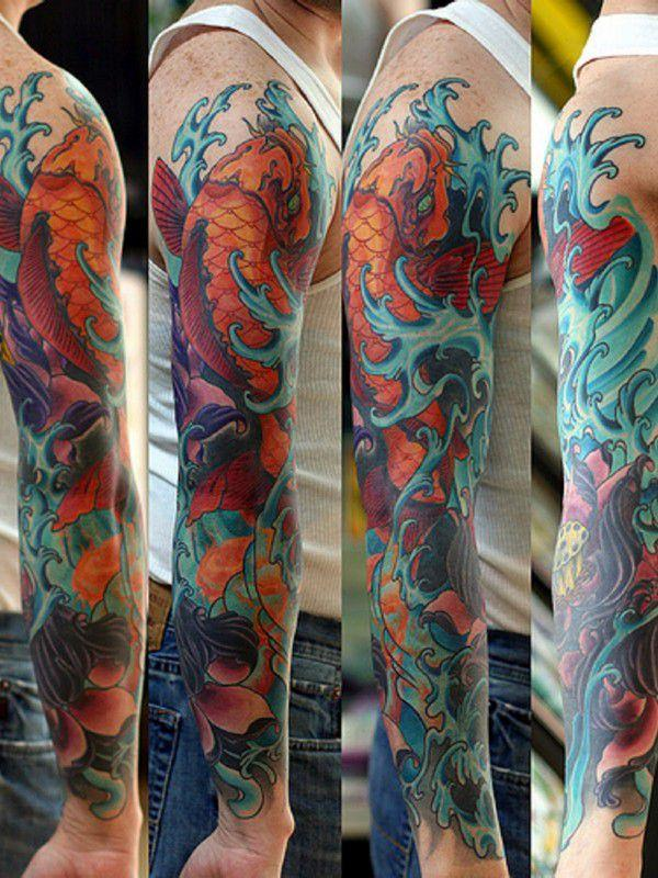 125 Koi Fish Tattoos with Meaning, Ranked by Popularity 28