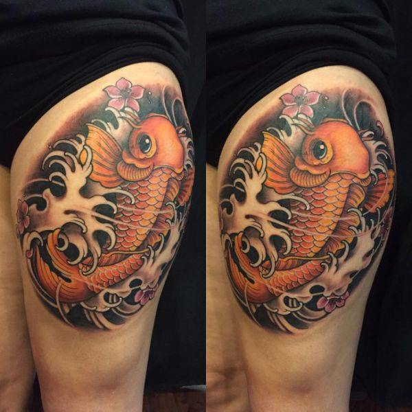 125 Koi Fish Tattoos with Meaning, Ranked by Popularity 29