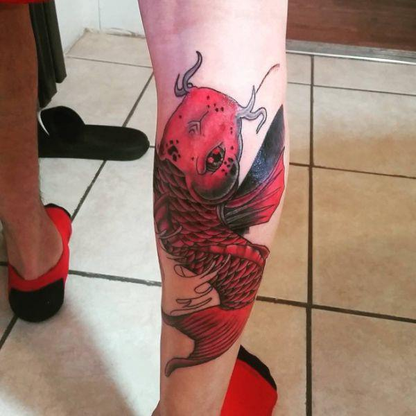125 Koi Fish Tattoos with Meaning, Ranked by Popularity 4
